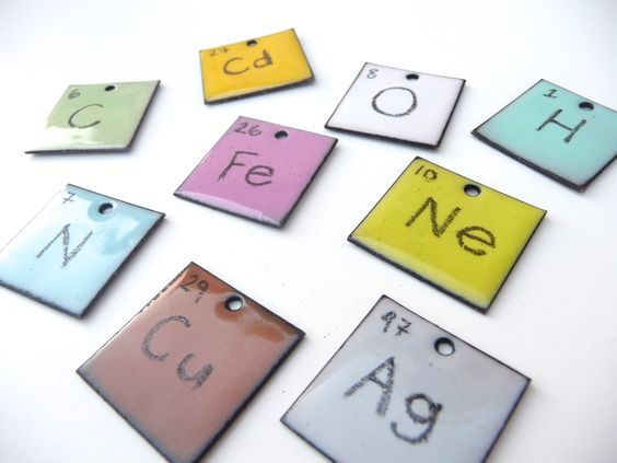 Periodic Table Pendants