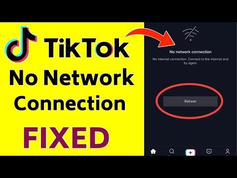 How To Fix Tik Tok No Network Connection Error In Hindi Tik Tok Video Not Loading Tiktok No Network Conne Networking Internet Connections Application Android