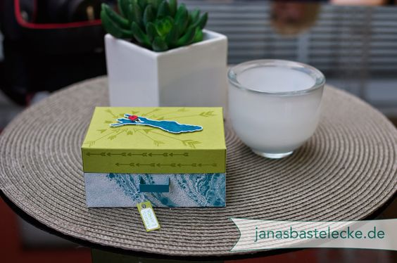 Geldgeschenk zur Hochzeitsreise Papierkoffer Bodensee