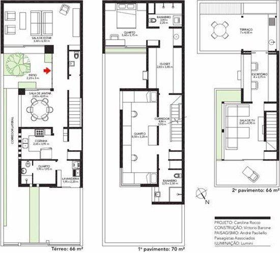 Desain Rumah Minimalis Lebar 5 Meter  pin on narrow house plan 1