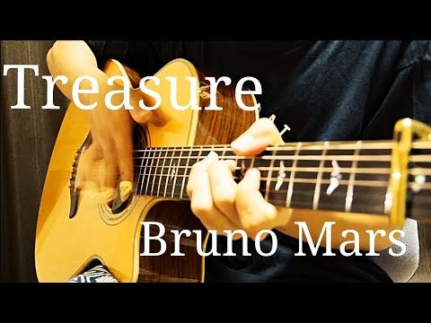 Bruno Mars Treasure Acoustic Guitar Cover Kent Nishimura Fingerstyle Youtube Acoustic Guitar Music Acoustic Guitar Guitar