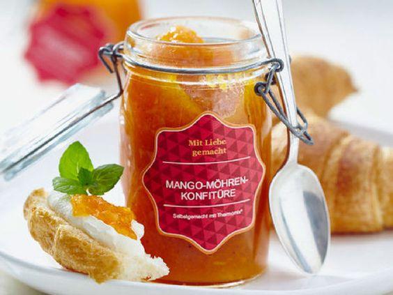 Die Geschenkidee: Mango Möhren Konfitüre