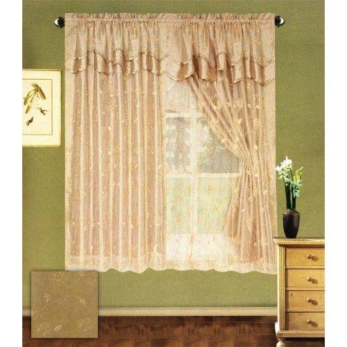 Stilvolle Vorhang Sets Wohnzimmer Schlafzimmer Vorhange Dekor