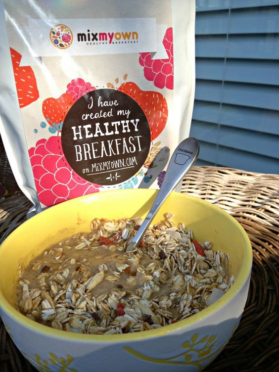 Kathleen @She Rocks Fitness created her custom mix with: #Crunchy WholeGrain #Coconut #Granola, #Goji Berries, #Cashews, #Organic #Cacao Nibs and  #GlutenFree #WholeGrain Oats #Muesli Base. #yum #HealthyBreakfast