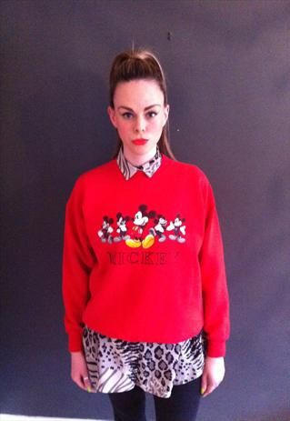 Vintage Mickey Mouse Disney jumper | ALICESWONDERLAND | ASOS Marketplace