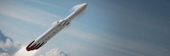 SpaceX Falcon Heavey Rocket