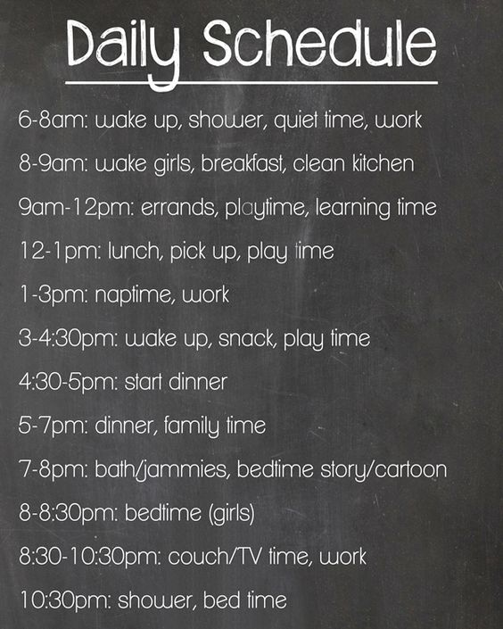 Wake Up To A Fresh Bedroom Style: Mom Life: The Daily Schedule Experiment