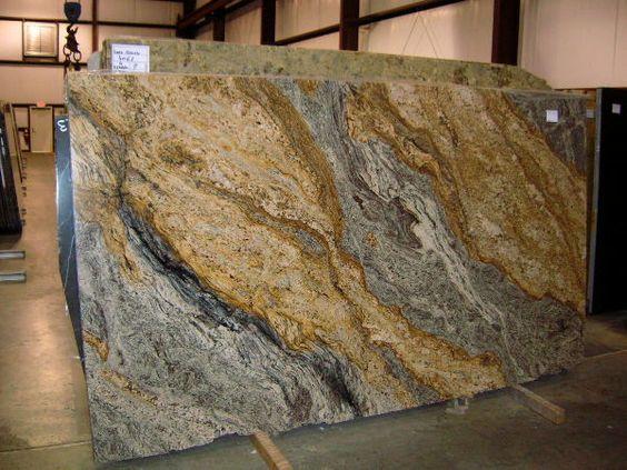 African Creme Granite Slab 24471