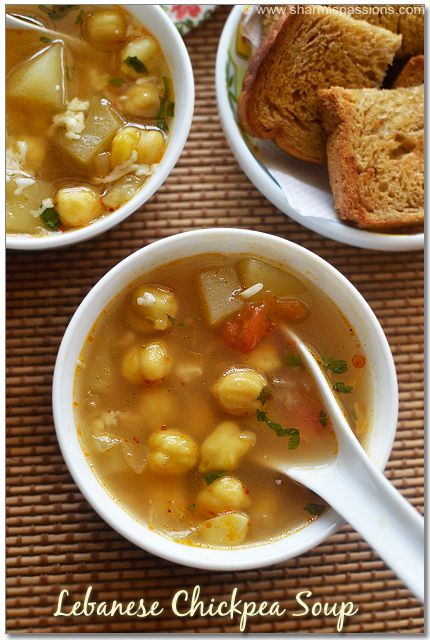 Ingredients | Recipe | Chickpea Soup, Chickpeas and Soup ...