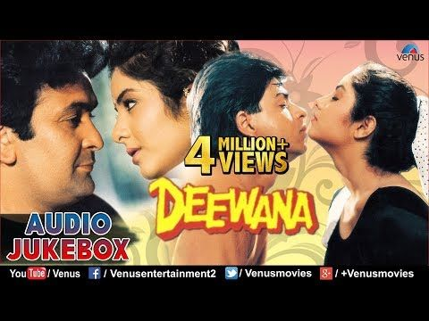 Deewana 90 S Romantic Songs Shahrukh Khan Rishi Kapoor Divya Bharti Jukebox Hindi Songs Youtube In 2020 Romantic Songs Hindi Movie Song Songs