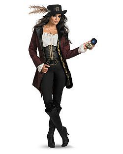 Prestige Pirates of the Caribbean Angelica | Cheap TV & Movie Halloween Costume for Women