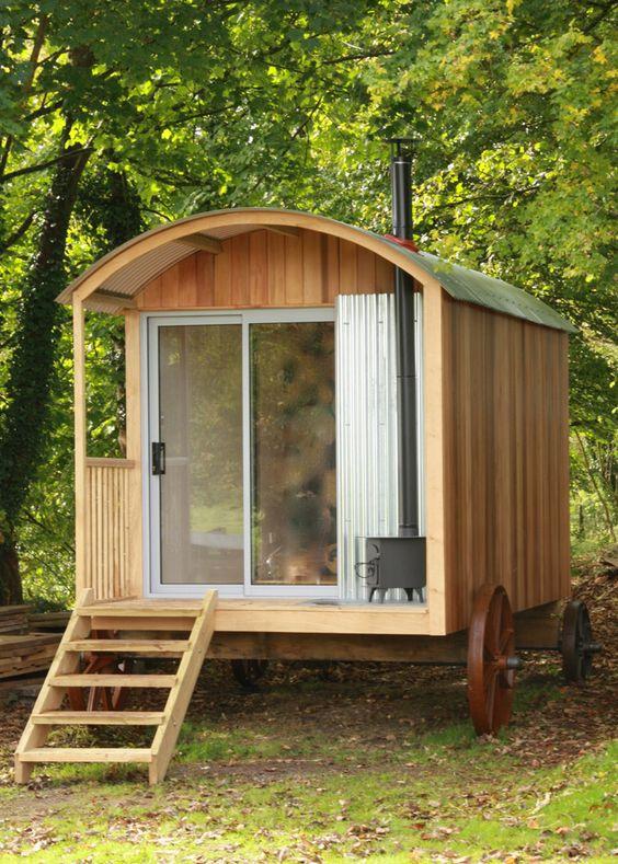 A fabulous contemporary take on the traditional Shepherd's hut theme - Plain Huts