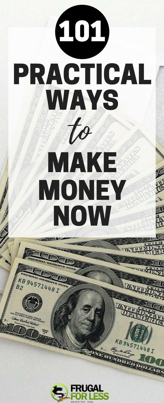101 Free Ways To Make Money Now