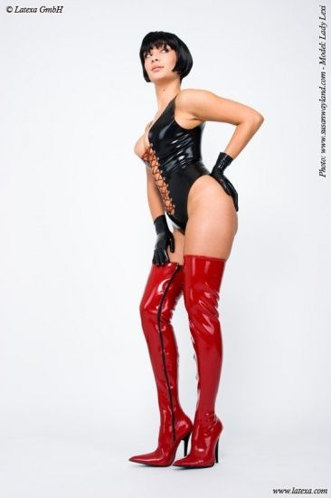 Body with laces in front - ANGENEHM EXTREM - ONLINE FETISH SHOP