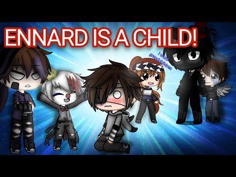 Ennard Is A Baby For 24 Hours Gacha Club Youtube Fnaf Fnaf Funny Anime