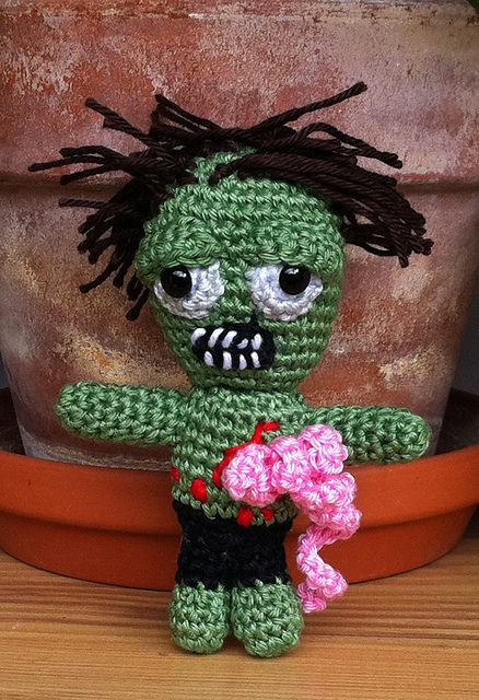 Crochet Zombie Patterns : Zombie free crochet pattern by Kerstin Batz Free Zombie ...