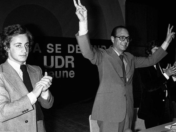 22 juin 1976 / Les photos les plus cool de Jacques Chirac