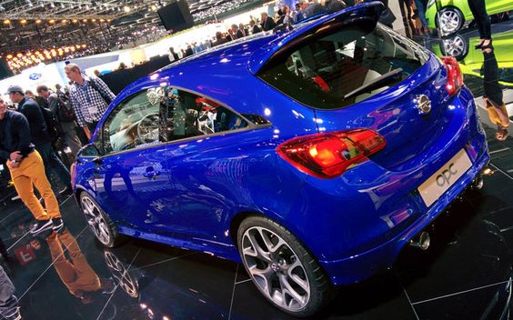 Geneva motor show, Vauxhall Corsa VXR