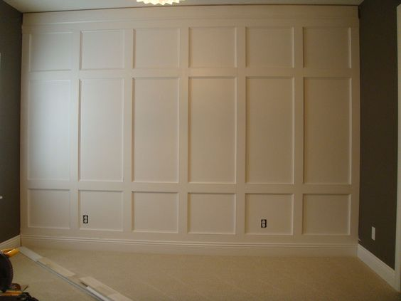 feature wall houzz 2 home trim moldings millwork pinterest diy and crafts feature walls. Black Bedroom Furniture Sets. Home Design Ideas