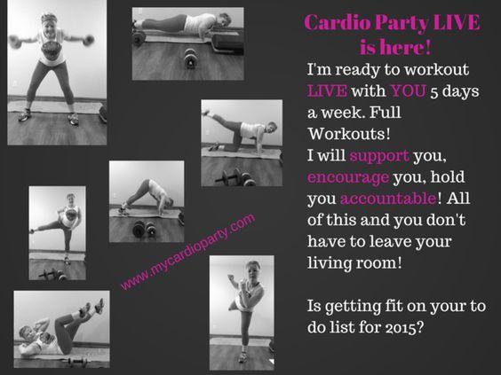 Blog — My Cardio Party