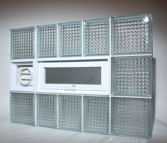 Glass block windows entrance and locks on pinterest for Where to buy glass block windows