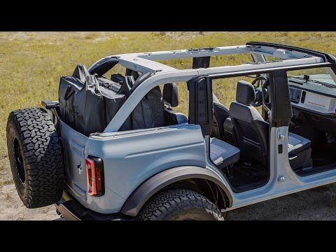 This Is How You Should Order The 2021 Bronco Youtube In 2020 Ford Bronco New Bronco Jeep Wrangler Doors