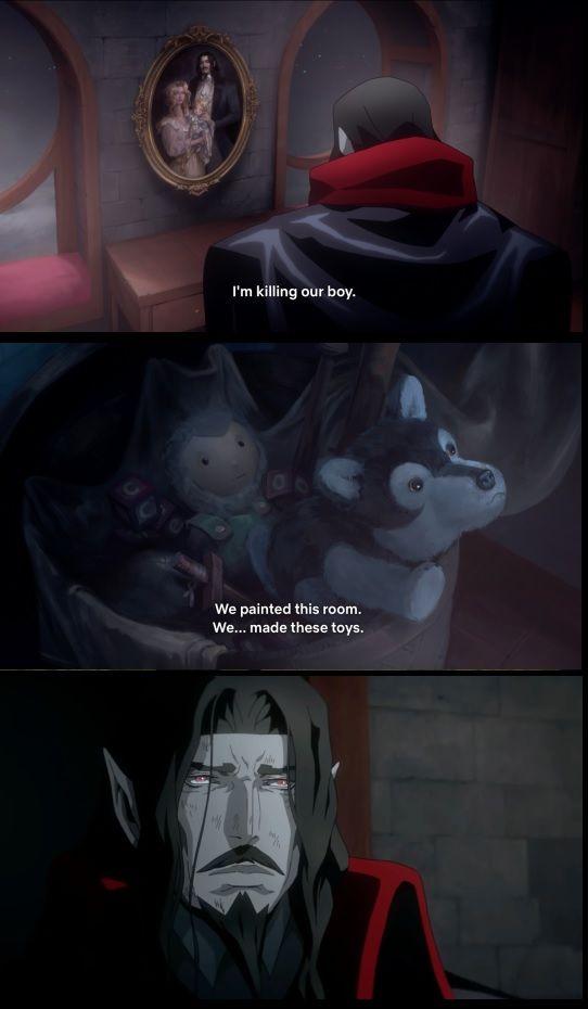 The Monster The Man In 2020 Anime Vampire Art Anime Art