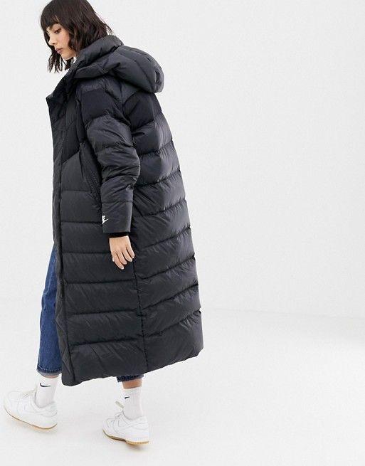 nike longline coat