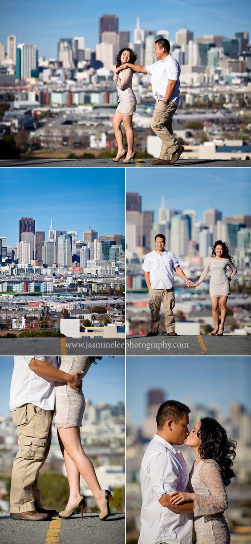 Potrero Hill Engagement Photos