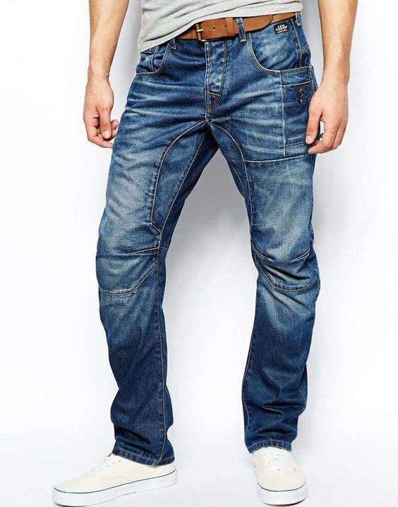 jack jones anti fit jeans with heavy wash men 39 s. Black Bedroom Furniture Sets. Home Design Ideas