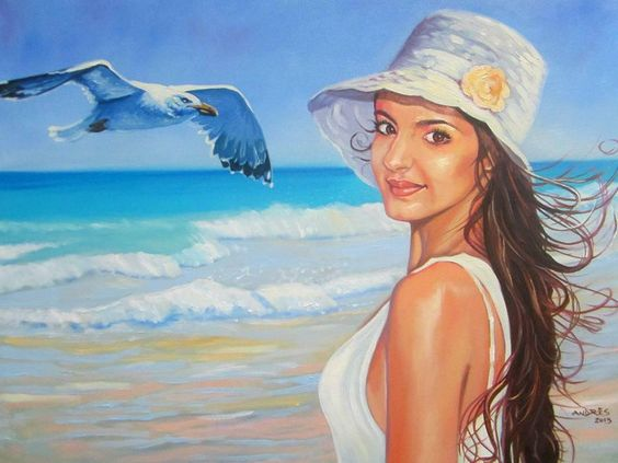 Wish I Can Fly. Painting on canvas, 60 x 80 x 2.5 cm. Available at the price of $250.00