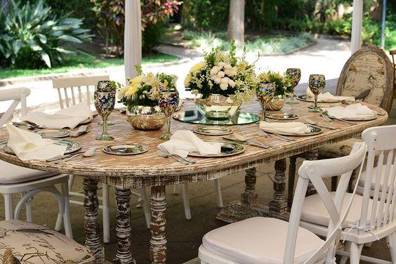 Diseño floral boul espejo