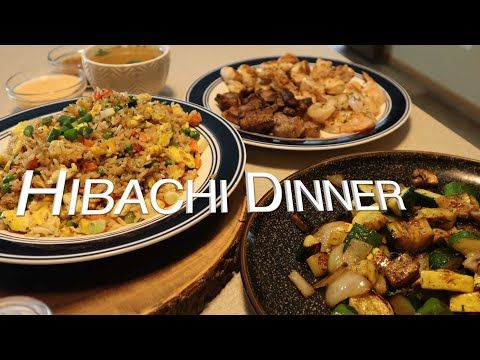 How To Make Hibachi Dinner At Home Quick N Simple Youtube Dinner Stuffed Peppers Hibachi Recipes