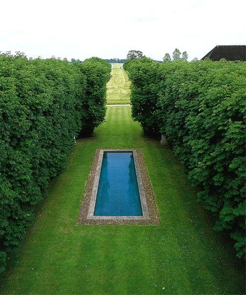 David Hicks' garden at The Grove, Oxfordshire UK