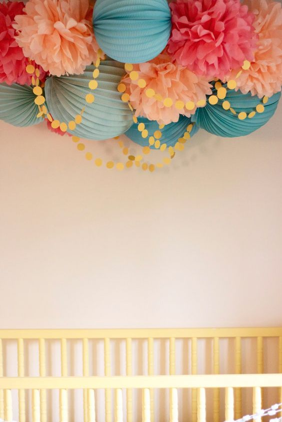 Paper Flowers From The Ceiling Bedrooms Kids Bunks