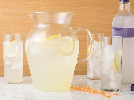 Get your weekend started with Tyler's Vodka Lemonade.