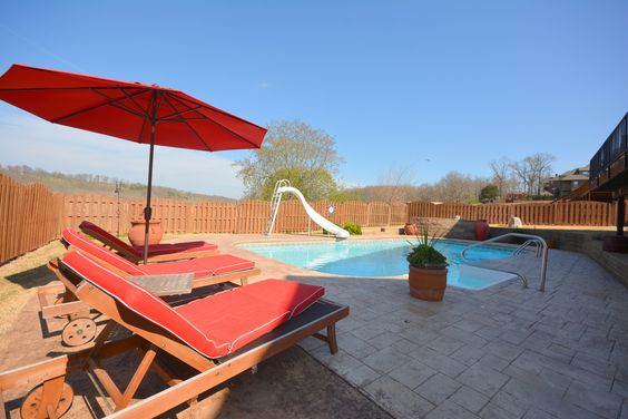 Home for sale in bentonville with walk out basement and for Bentonville pool