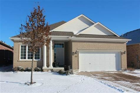 Spring Has Arrived And So Has 10 Babe's Way. Gorgeous Open Concept, All Brick Bungalow In Sought After #Ballantrae #Golf  Country Club. Bright Kitchen With Granite Counters And Built-In Appliances, Walk-Out From Living Room To Covered Patio In Back Yard. Gas Fireplace, 12' Ceilings, Pot Lights. Interlock Driveway, Fantastic Curb Appeal, Lovely Gardens. Neutral Decor; Upgraded Kitchen Cabinets In Kitchen And Pantry. http://10BabesWay.remaxkeswick.com