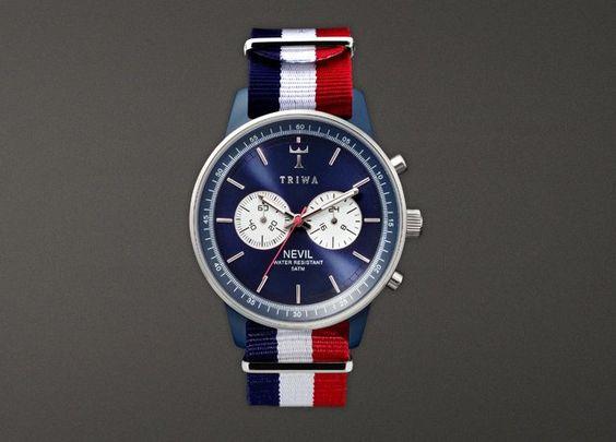 Le Bleu Nevil Blue Watch by TRIWA
