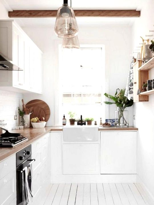10 Small Kitchen Concepts That Show Measurement Does Not All The Time Matter Minimalist Kitchen Design Small Space Interior Design Interior Design Kitchen