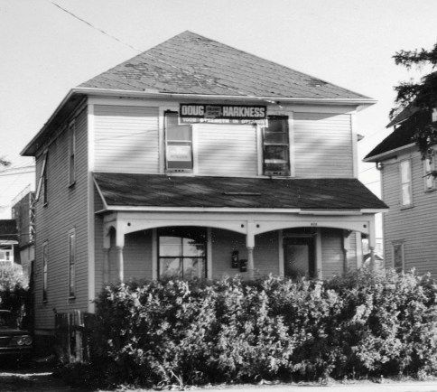 Bob Edwards - Bob Edwards' Residence, photographed just before demolition in 1968 919 4th Avenue SW Alison Jackson Photograph Collection