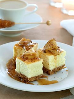 caramel apple cheesecake :)