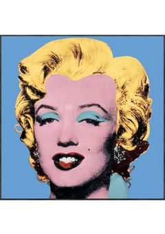 The famous Andy Warhol portrait