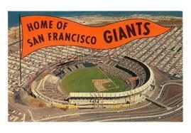 Candlestick - was home to Giants and 49ers.  Then Giants got their own stadium - AT&T Park. Now 49ers will play their last game here on Monday night.  Great park! It's going t be missed!
