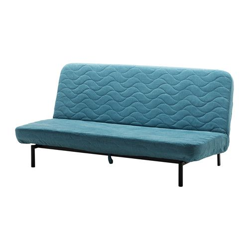 Nyhamn Sleeper Sofa With Pocket Spring Mattress Borred Green Blue With Pocket Spring Mattress Borred Green Blue Sleeper Sofa Ikea Sofa Bed Ikea Sofa