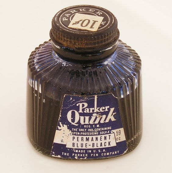 Vintage Ink Bottle 114