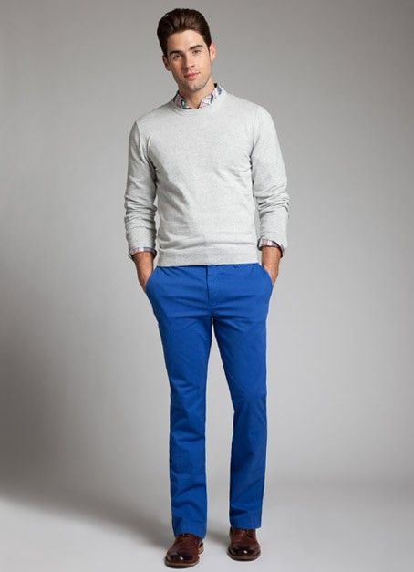 Blue, Blood and Pants for men on Pinterest