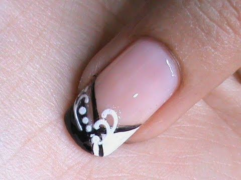 French Manicure Nail Art Designs How To With Nail designs and Art Design Nail Art About Nails #manicure #nails #nailart  Pinned by www.SimpleNailArtTips.com