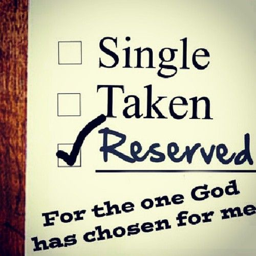 Gladly reserved not just as husband but also as your man.:
