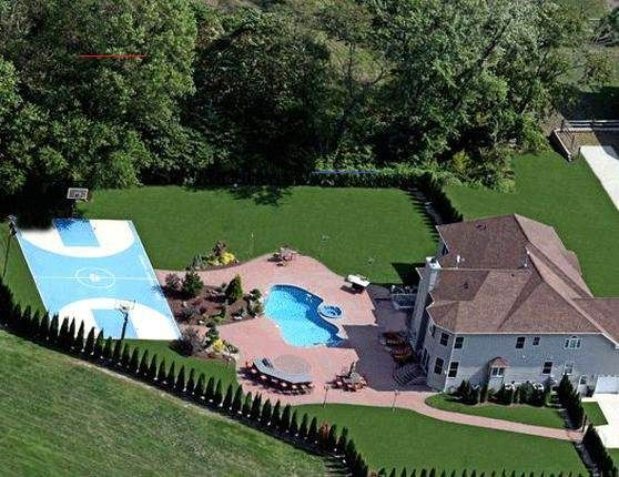 Backyardpatiodesigns Basketball Court Backyard Dream Backyard Backyard Pool